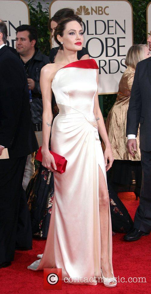 Angelina Jolie, Golden Globe Awards and Beverly Hilton Hotel 5