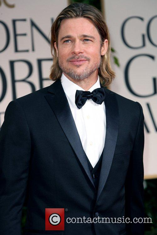 Brad Pitt,  The 69th Annual Golden Globe...