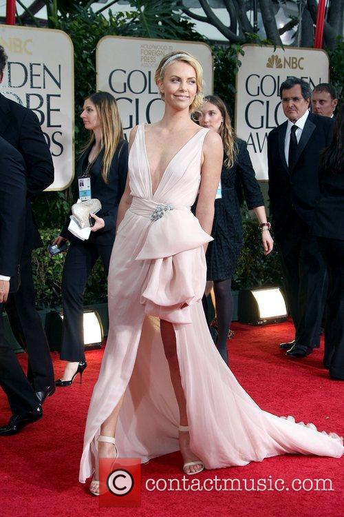 Charlize Theron, Golden Globe Awards and Beverly Hilton Hotel 3