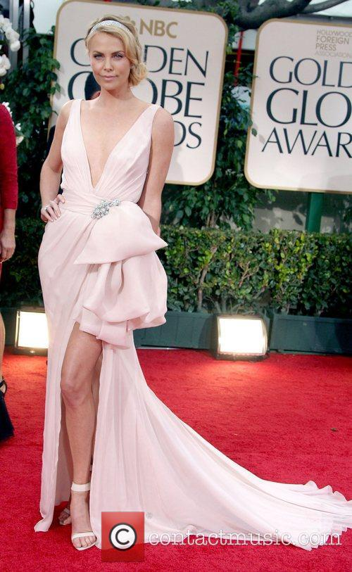Charlize Theron, Golden Globe Awards and Beverly Hilton Hotel 5