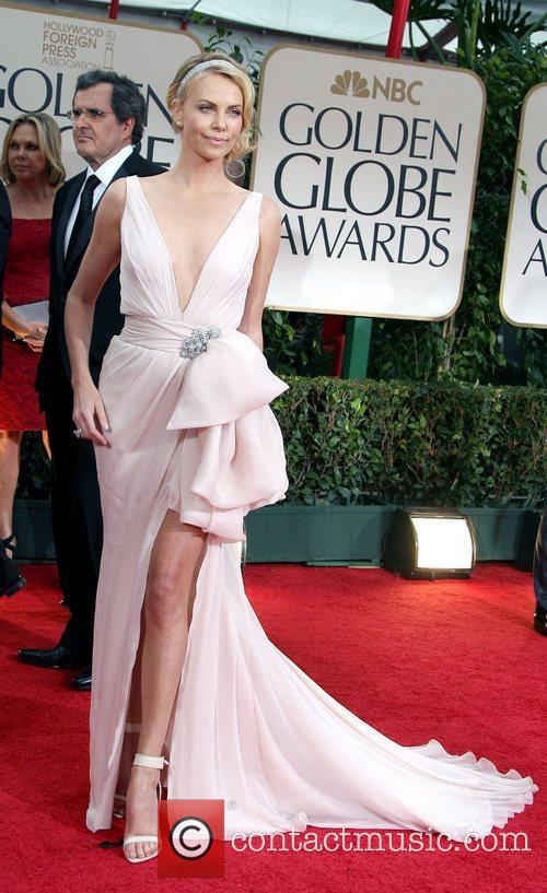 Charlize Theron, Golden Globe Awards and Beverly Hilton Hotel 6