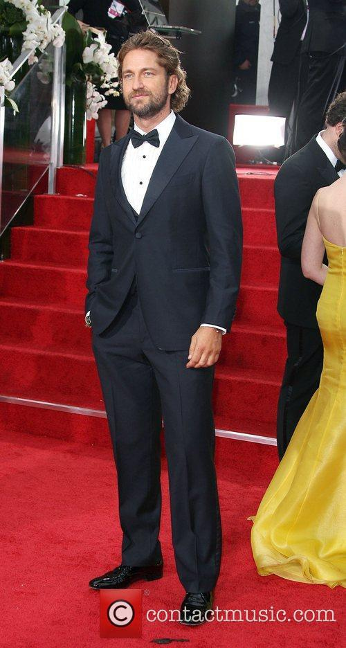 Gerard Butler, Golden Globe Awards and Beverly Hilton Hotel 2