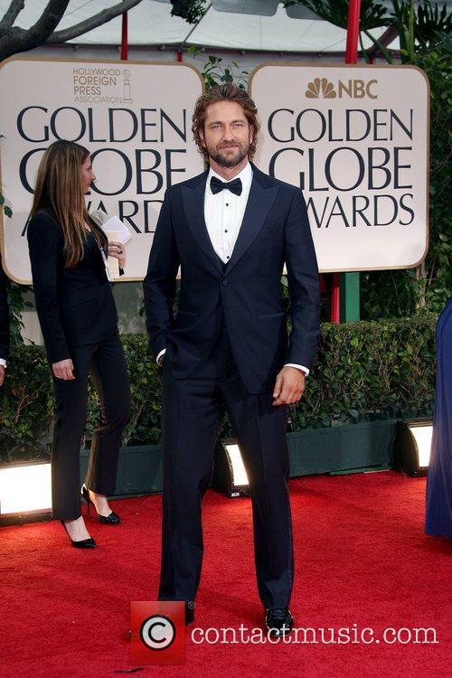 Gerard Butler, Golden Globe Awards and Beverly Hilton Hotel 1