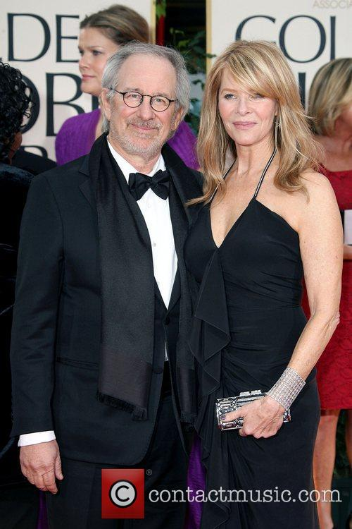 Steven Spielberg, Kate Capshaw, Golden Globe Awards and Beverly Hilton Hotel 7
