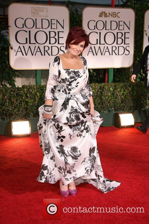 Sharon Osbourne, Golden Globe Awards and Beverly Hilton Hotel 2