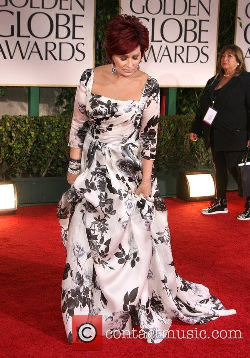 Sharon Osbourne, Golden Globe Awards and Beverly Hilton Hotel 3