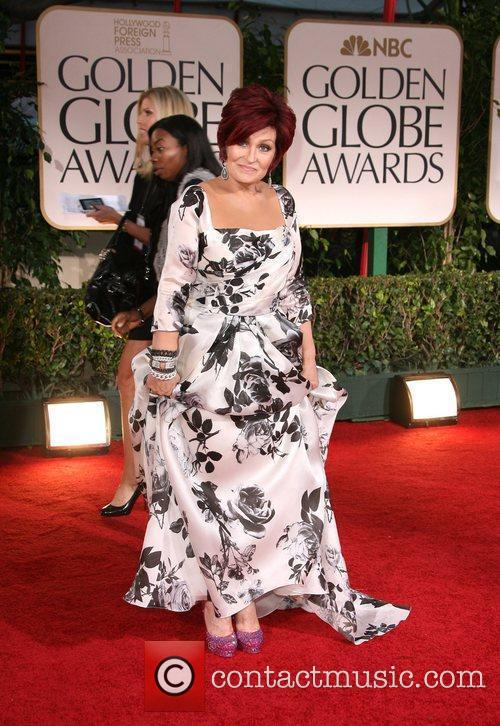 Sharon Osbourne, Golden Globe Awards and Beverly Hilton Hotel 1