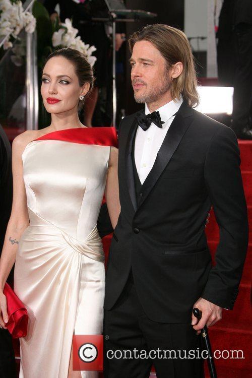 Angelina Jolie, Brad Pitt, Golden Globe Awards, Beverly Hilton Hotel
