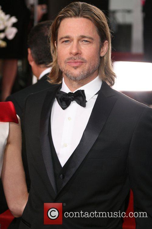 Brad Pitt, Golden Globe Awards, Beverly Hilton Hotel