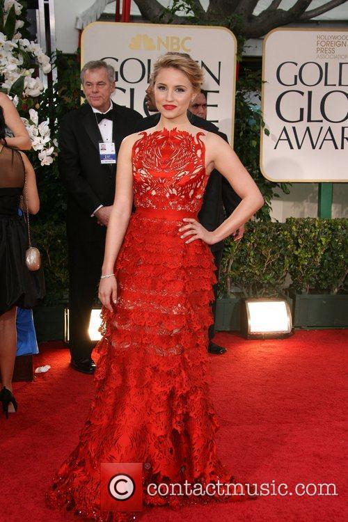 Dianna Agron, Golden Globe Awards and Beverly Hilton Hotel 3