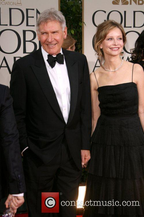 Harrison Ford, Calista Flockhart, Golden Globe Awards and Beverly Hilton Hotel 2