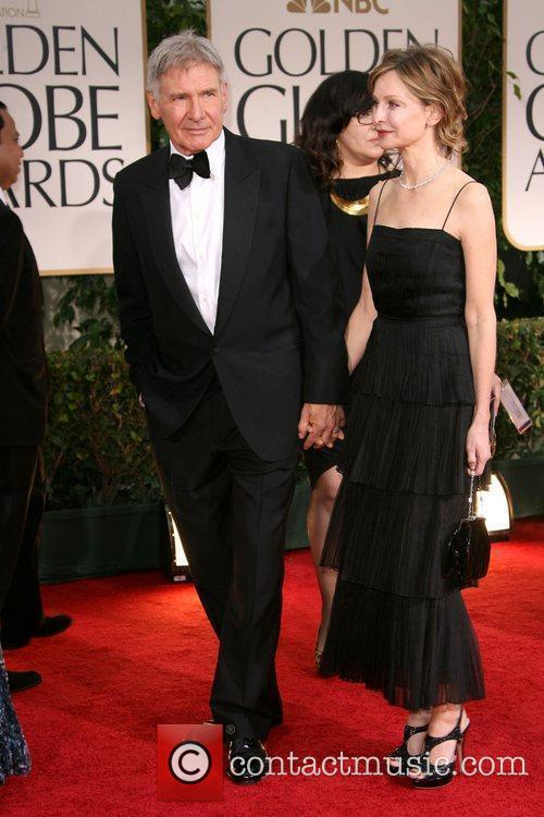 Harrison Ford, Calista Flockhart, Golden Globe Awards and Beverly Hilton Hotel 3