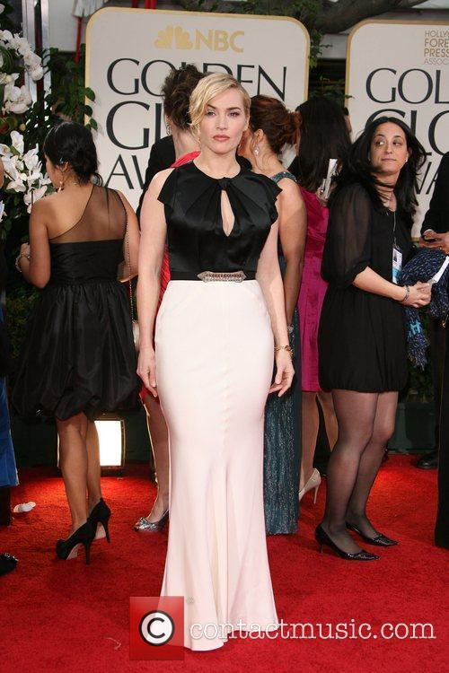Kate Winslet, Golden Globe Awards and Beverly Hilton Hotel 2