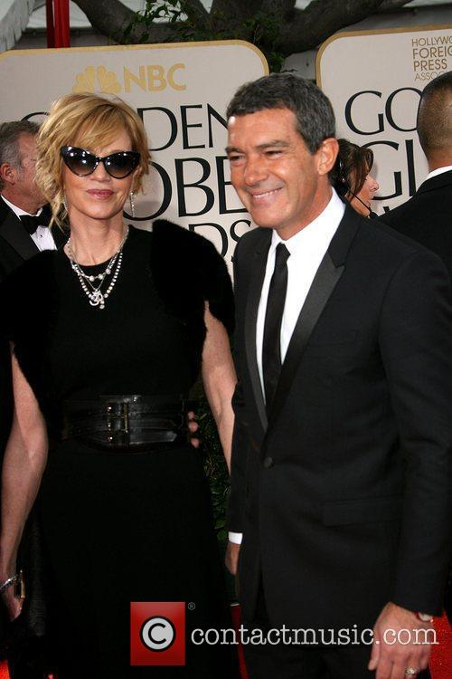 Melanie Griffith, Antonio Banderas, Golden Globe Awards and Beverly Hilton Hotel 11