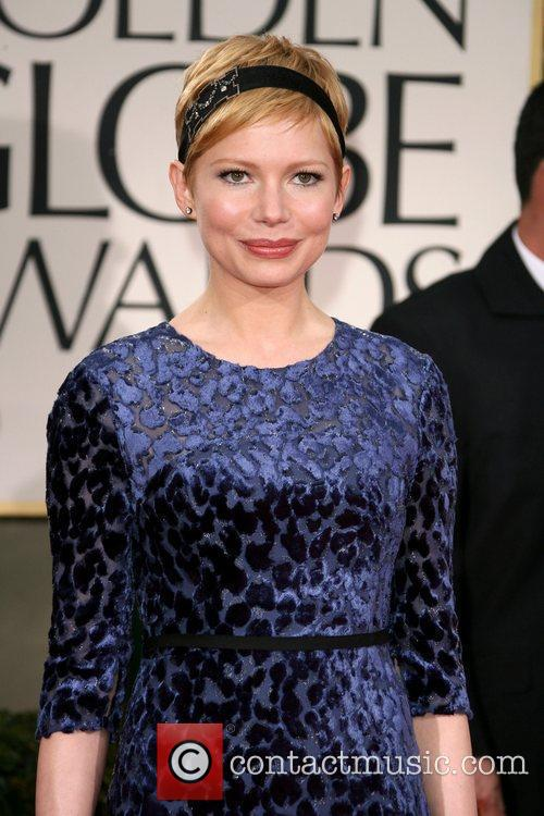 Michelle Williams, Golden Globe Awards and Beverly Hilton Hotel 2