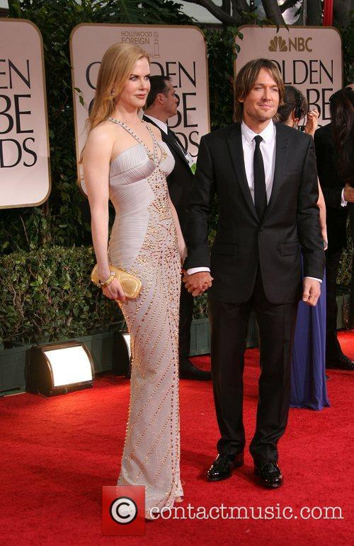 Nicole Kidman, Keith Urban, Golden Globe Awards and Beverly Hilton Hotel 2