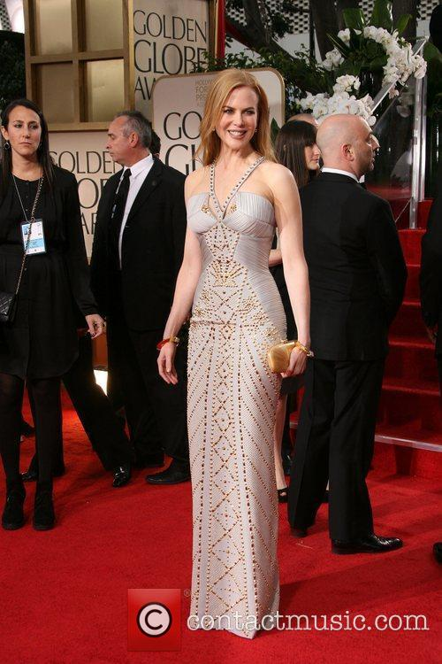 Nicole Kidman, Golden Globe Awards and Beverly Hilton Hotel 3