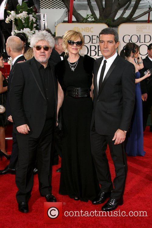 Pedro Almodovar, Melanie Griffith and Antonio Banderas The...