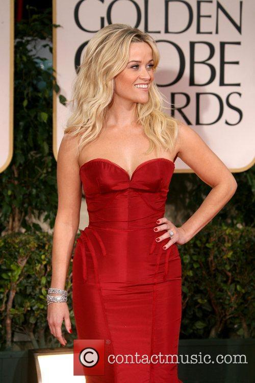 Reese Witherspoon, Golden Globe Awards and Beverly Hilton Hotel 1