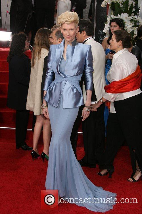 Tilda Swinton, Golden Globe Awards and Beverly Hilton Hotel 2