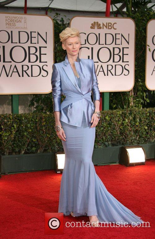 Tilda Swinton, Golden Globe Awards and Beverly Hilton Hotel 3