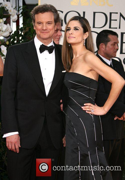 Colin Firth, Golden Globe Awards and Beverly Hilton Hotel 2