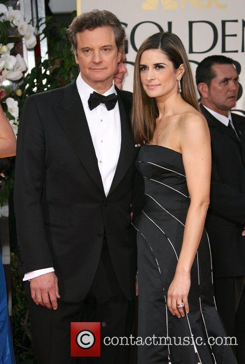Colin Firth, Golden Globe Awards and Beverly Hilton Hotel 1