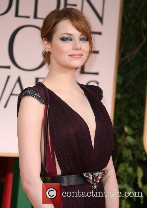 Emma Stone, Golden Globe Awards and Beverly Hilton Hotel 2
