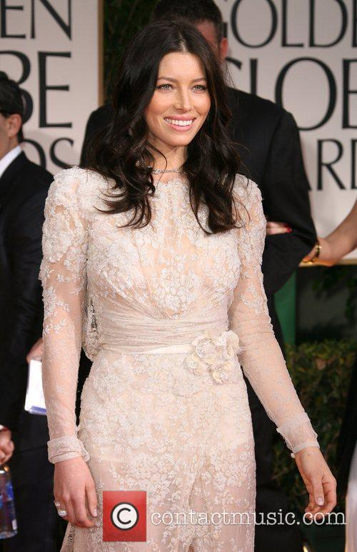 Jessica Biel, Golden Globe Awards and Beverly Hilton Hotel 1