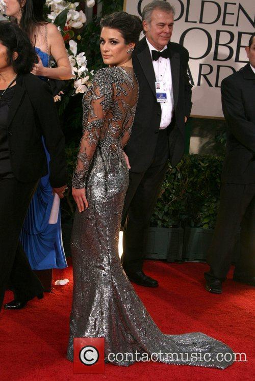 Lea Michele, Golden Globe Awards and Beverly Hilton Hotel 2