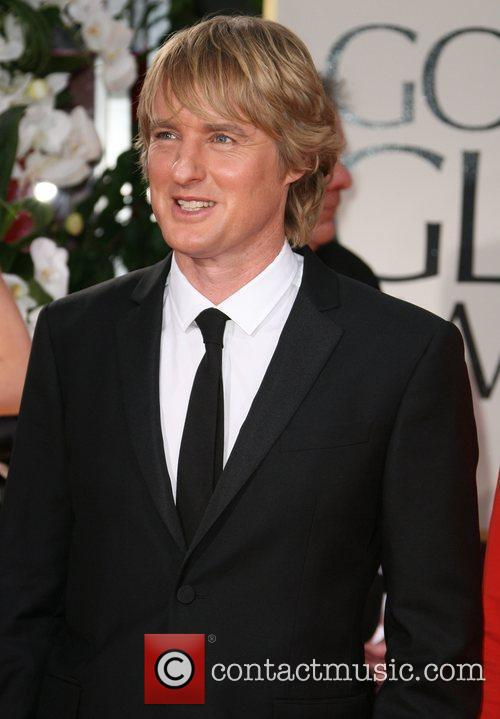 Owen Wilson, Golden Globe Awards and Beverly Hilton Hotel