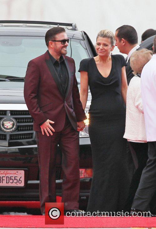 Ricky Gervais, Golden Globe Awards and Beverly Hilton Hotel 3