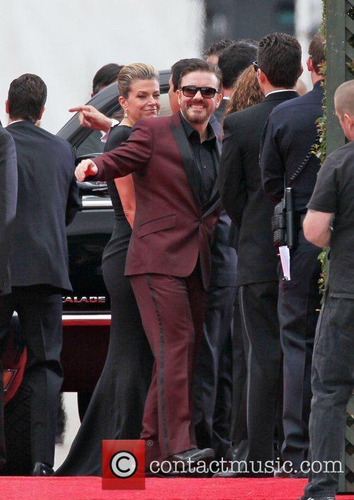 Ricky Gervais, Golden Globe Awards and Beverly Hilton Hotel 4
