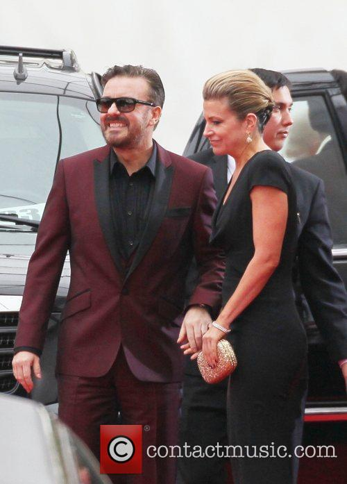Ricky Gervais, Golden Globe Awards and Beverly Hilton Hotel 6