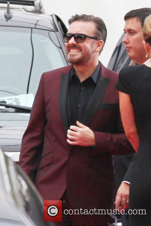 Ricky Gervais, Golden Globe Awards and Beverly Hilton Hotel 1