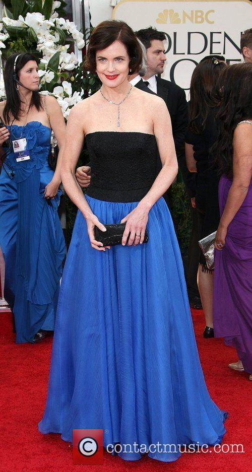 Elizabeth Mcgovern, Golden Globe Awards and Beverly Hilton Hotel 2