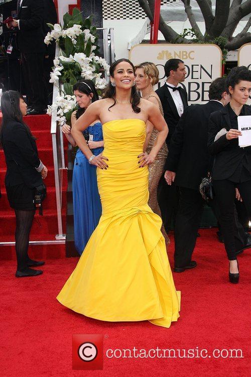 Paula Patton, Golden Globe Awards and Beverly Hilton Hotel 2