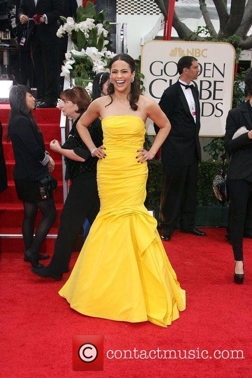 Paula Patton, Golden Globe Awards and Beverly Hilton Hotel 4