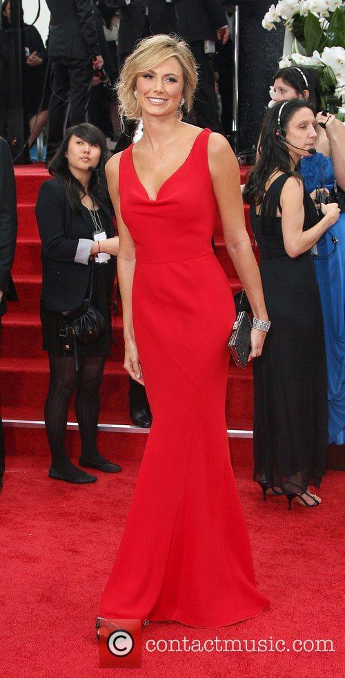 Stacy Keibler, Golden Globe Awards and Beverly Hilton Hotel 1
