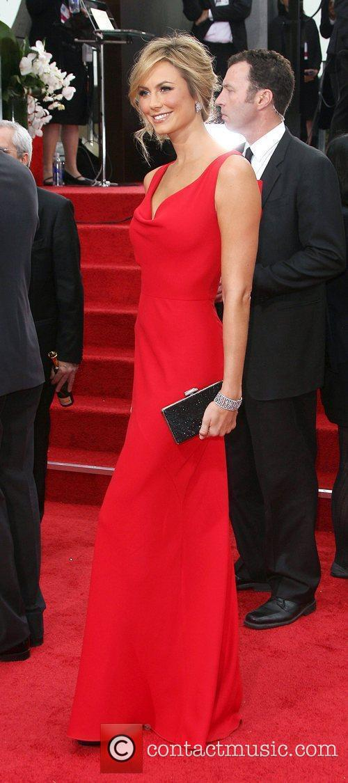Stacy Keibler and Beverly Hilton Hotel 2