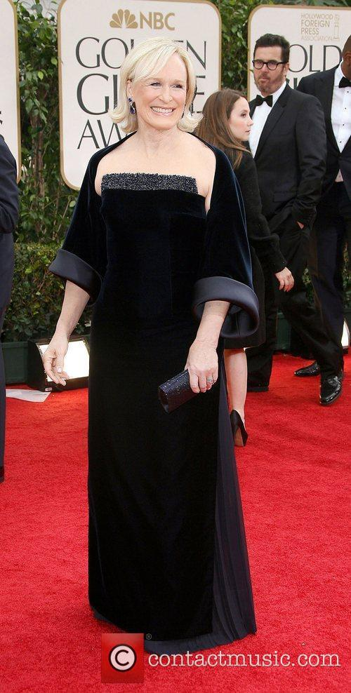 Glenn Close, Golden Globe Awards and Beverly Hilton Hotel 1