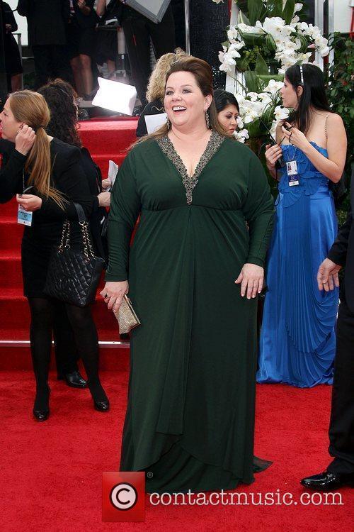 Melissa Mccarthy, Golden Globe Awards and Beverly Hilton Hotel 1