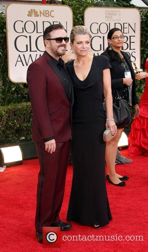Ricky Gervais, Golden Globe Awards and Beverly Hilton Hotel 2
