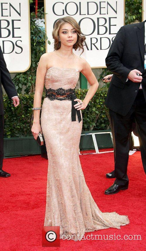Sarah Hyland, Golden Globe Awards and Beverly Hilton Hotel 1