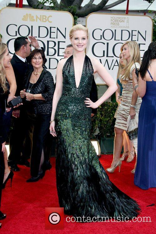 Evan Rachel Wood, Golden Globe Awards and Beverly Hilton Hotel 2