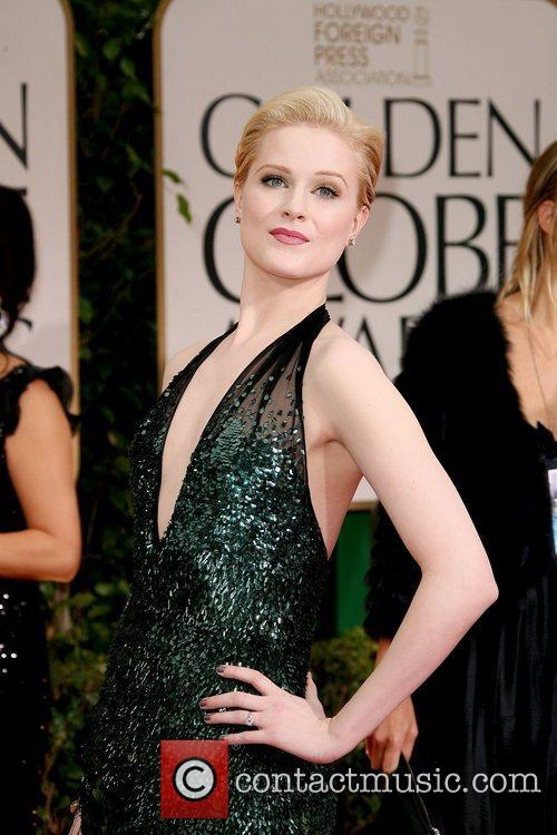 Evan Rachel Wood, Golden Globe Awards and Beverly Hilton Hotel 3