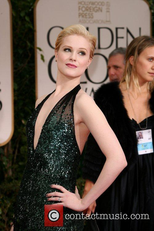 Evan Rachel Wood, Golden Globe Awards and Beverly Hilton Hotel 1