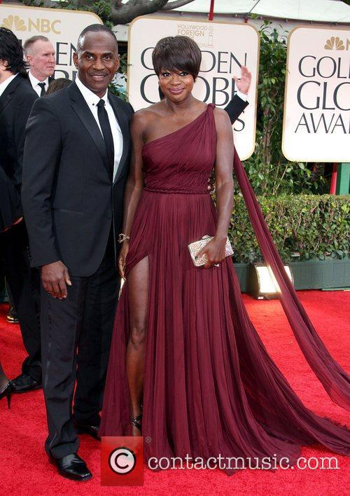 Viola Davis, Golden Globe Awards and Beverly Hilton Hotel 1