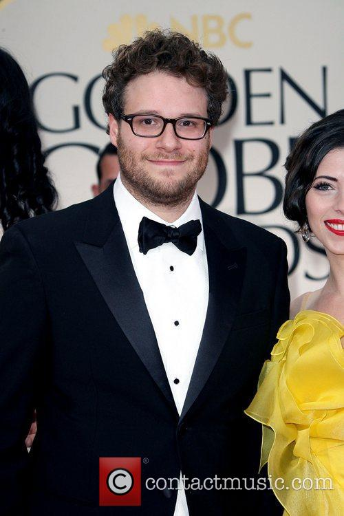 Seth Rogen, Golden Globe Awards and Beverly Hilton Hotel 6