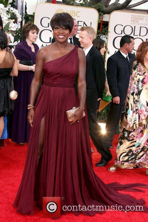 Viola Davis, Golden Globe Awards and Beverly Hilton Hotel 2